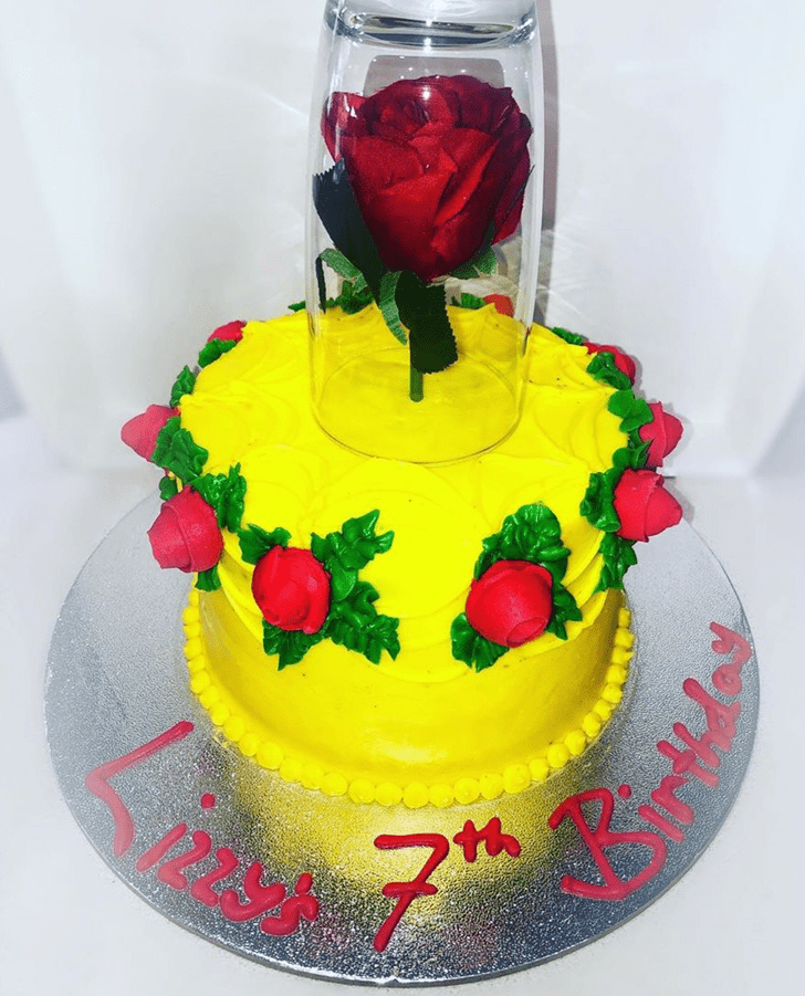 Superb Beauty and the Beast Cake