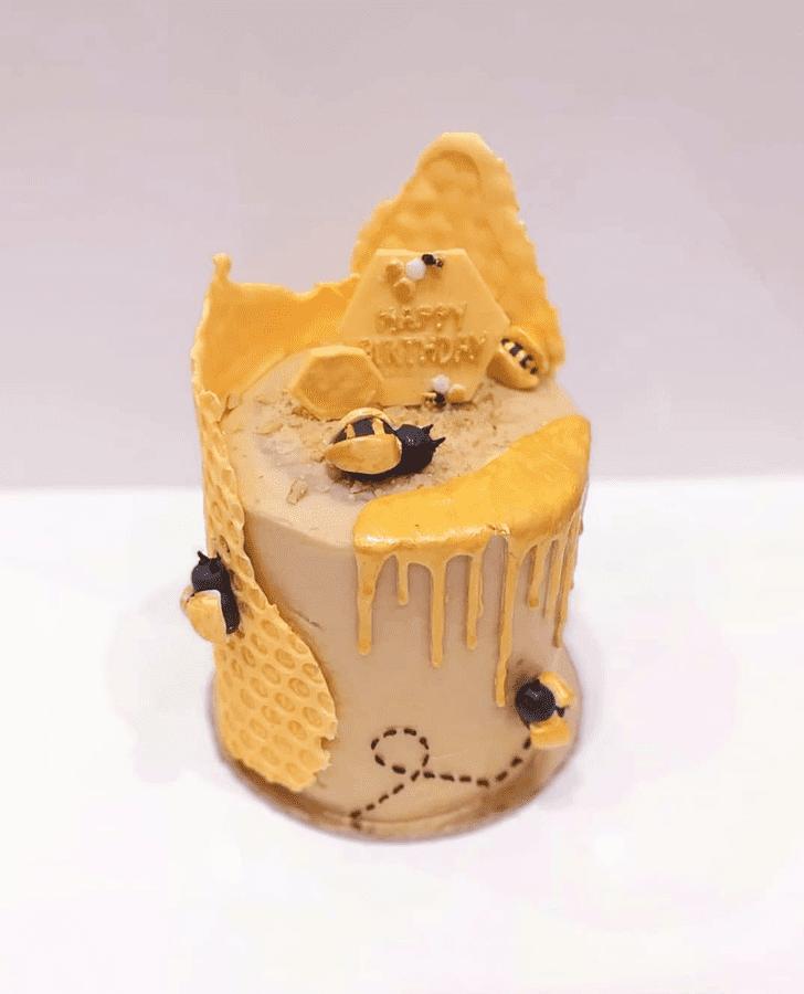Resplendent Bee Cake