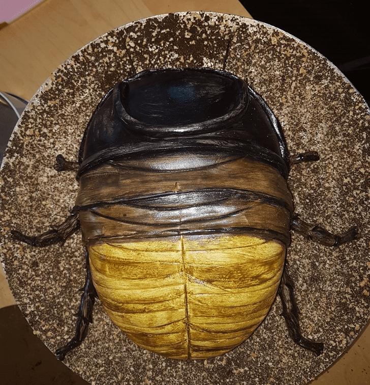 Angelic Beetle Cake