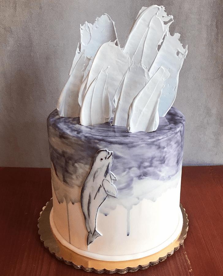 Alluring Beluga Cake