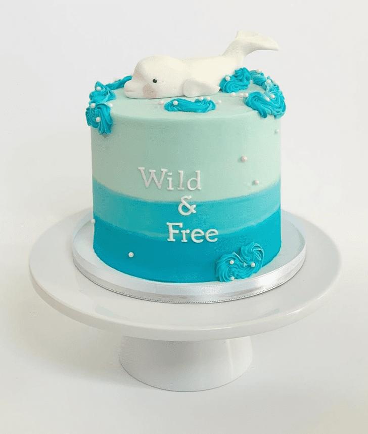 Bewitching Beluga Cake