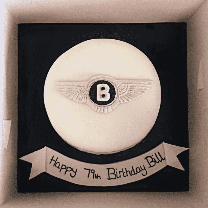 Angelic Bentley Cake