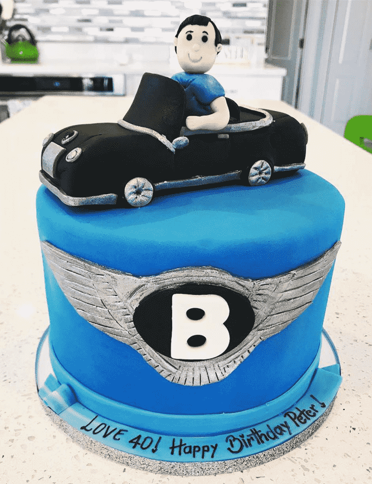 Beauteous Bentley Cake