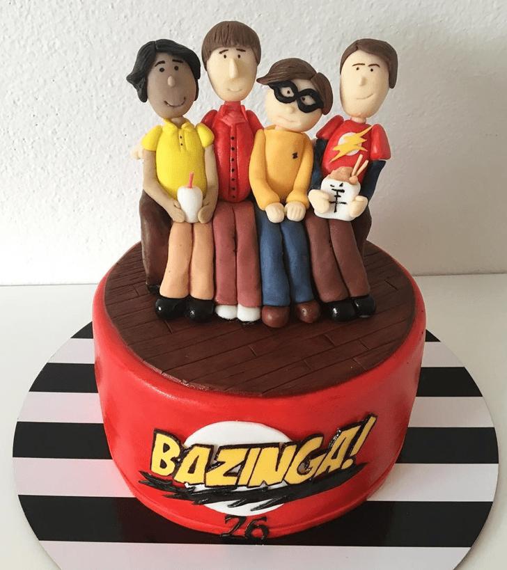 Admirable Big Bang Theory Cake Design