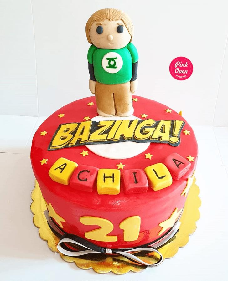 Adorable Big Bang Theory Cake