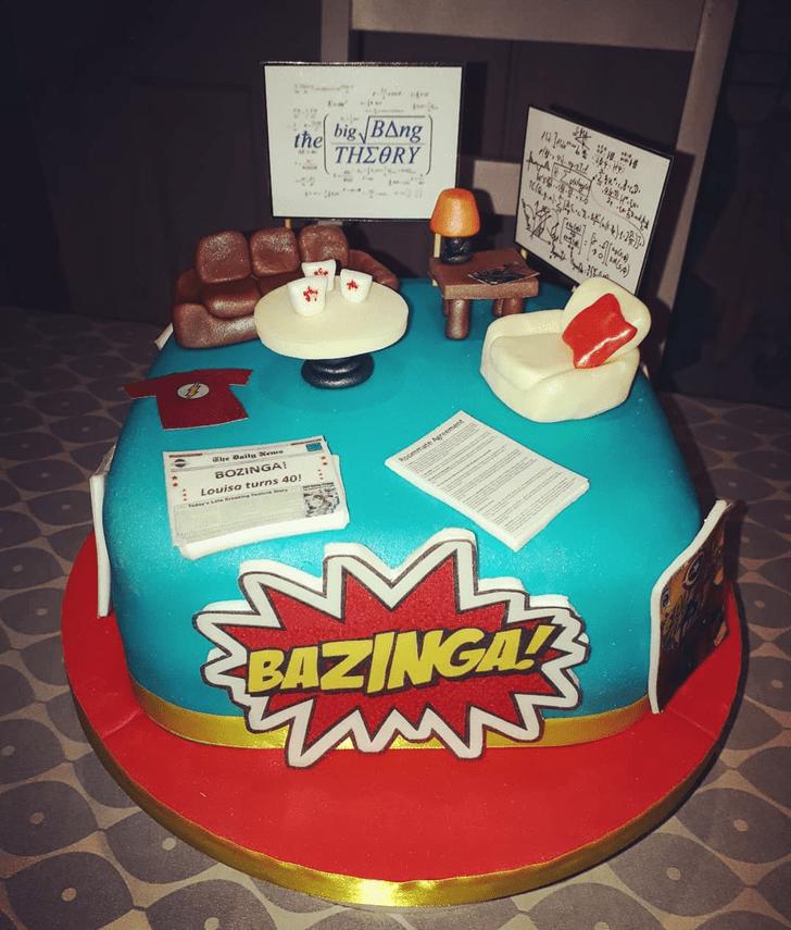 Appealing Big Bang Theory Cake