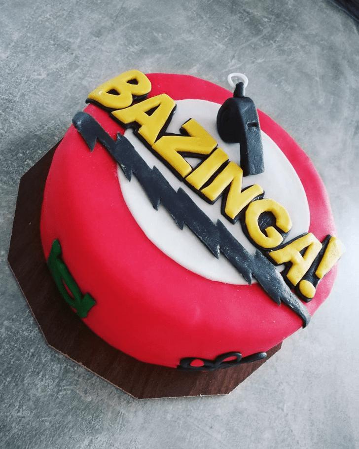 Beauteous Big Bang Theory Cake