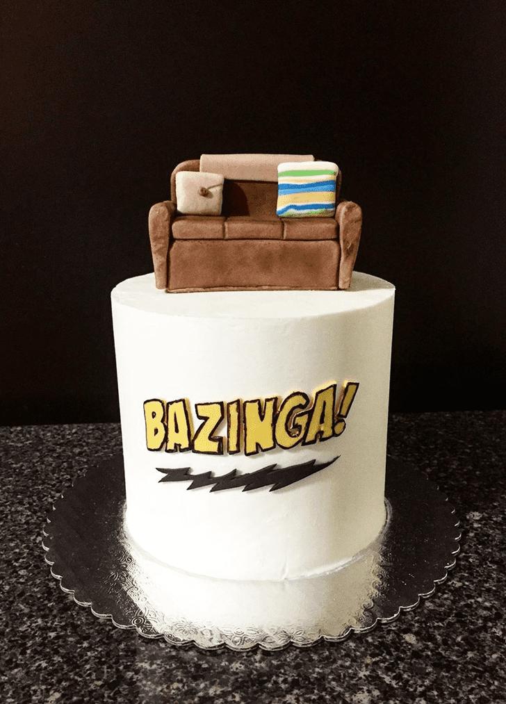 Bewitching Big Bang Theory Cake