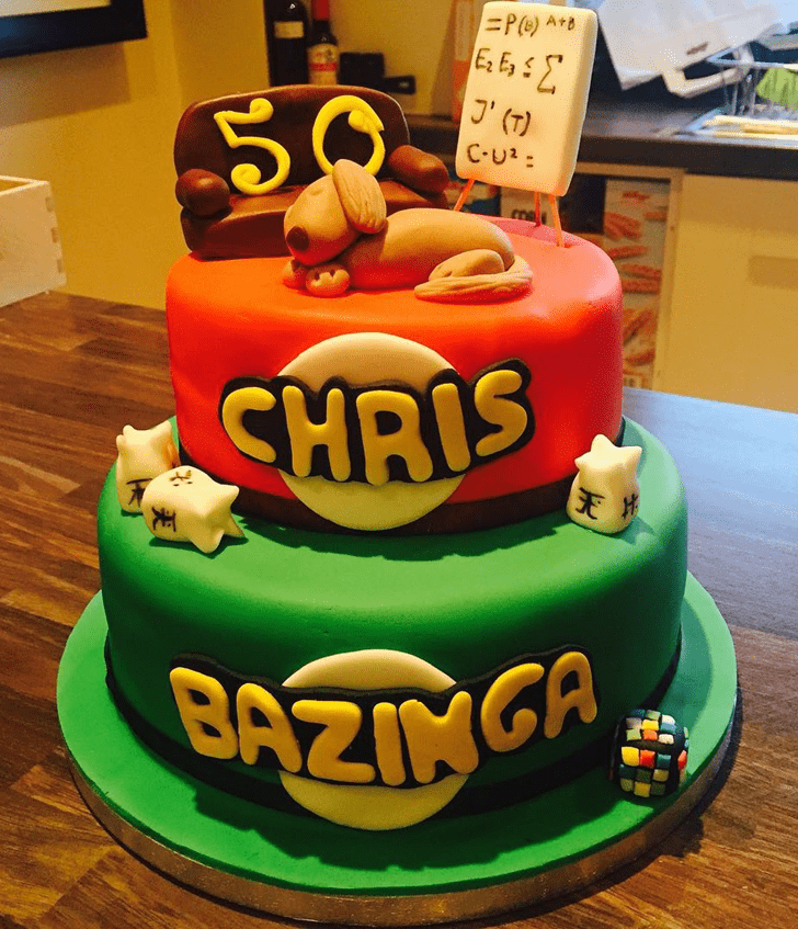 Captivating Big Bang Theory Cake