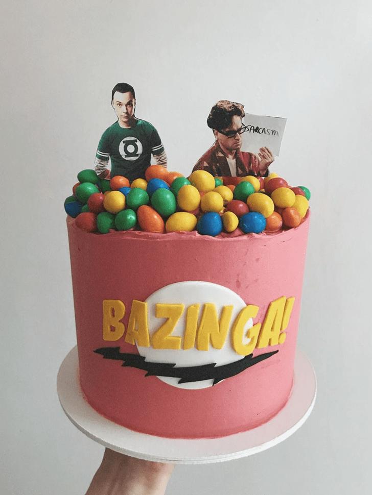 Classy Big Bang Theory Cake