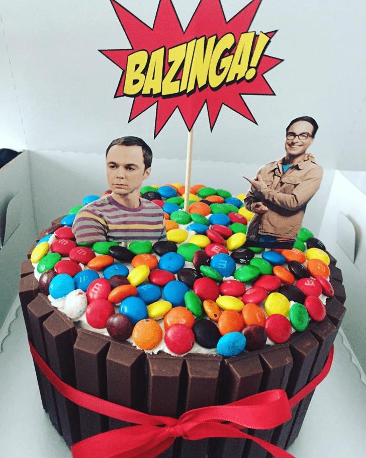 Comely Big Bang Theory Cake