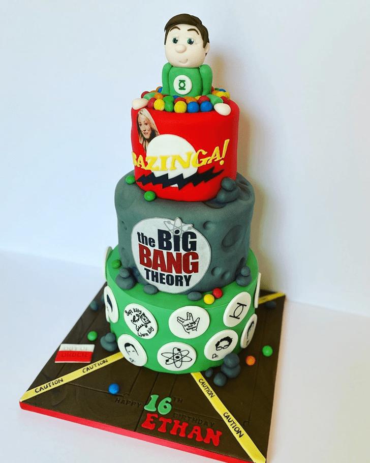Delightful Big Bang Theory Cake
