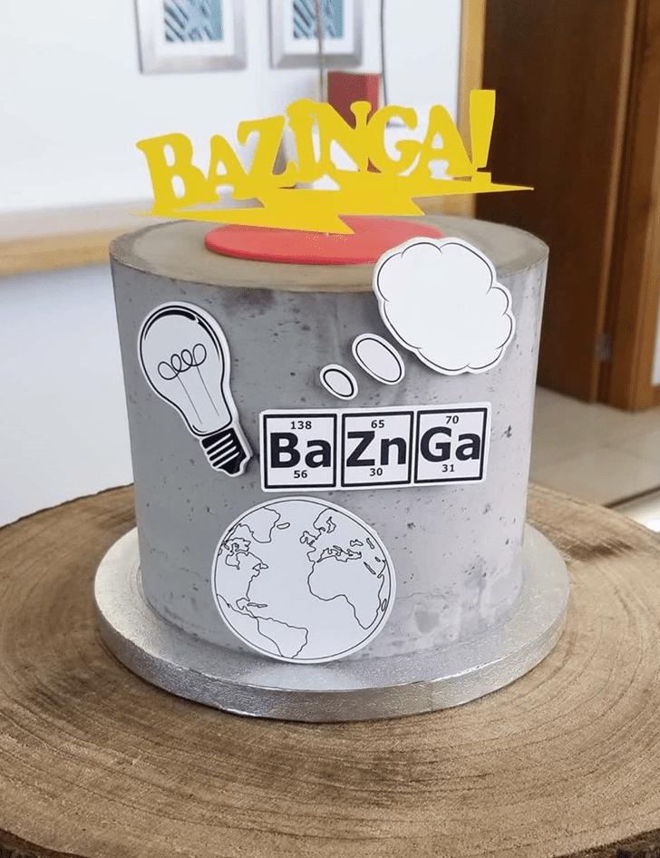 Divine Big Bang Theory Cake