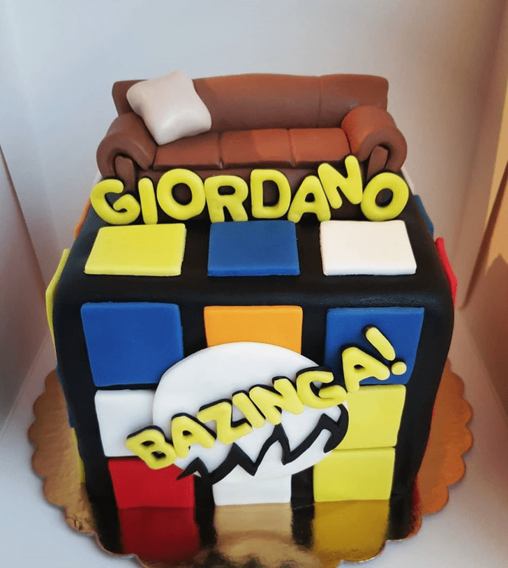 Elegant Big Bang Theory Cake