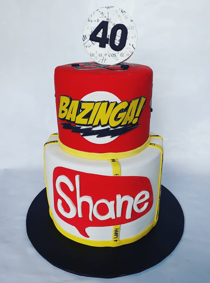 Enticing Big Bang Theory Cake