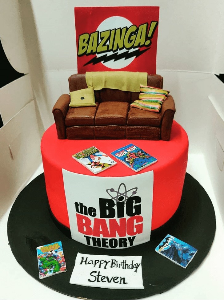 Excellent Big Bang Theory Cake
