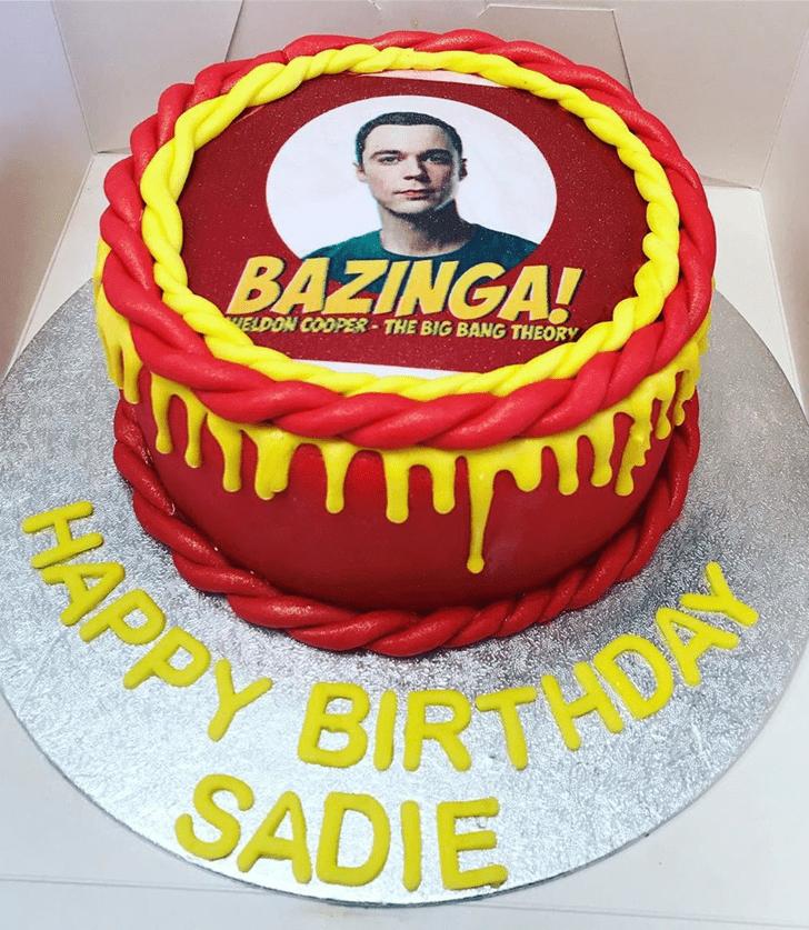 Fair Big Bang Theory Cake