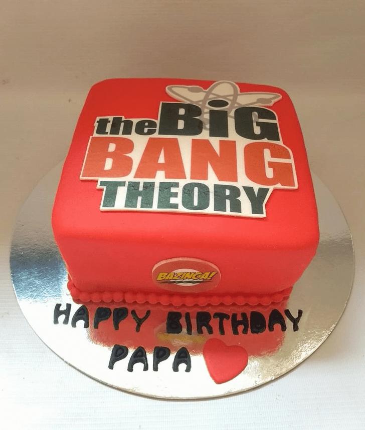 Good Looking Big Bang Theory Cake