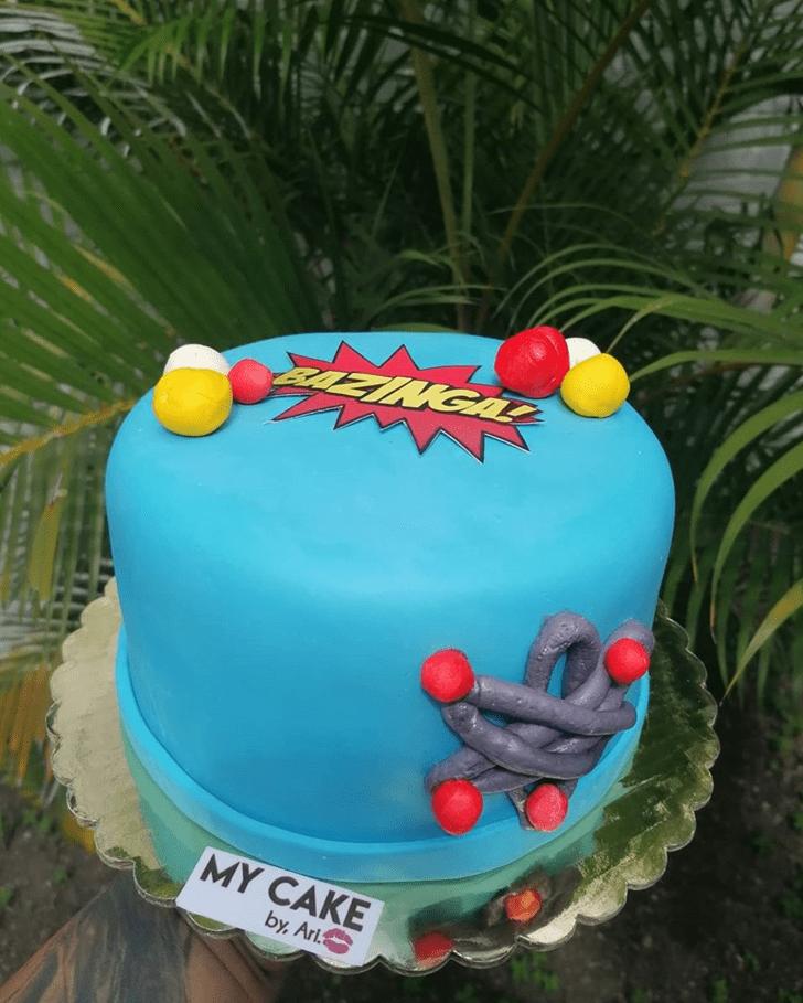 Handsome Big Bang Theory Cake