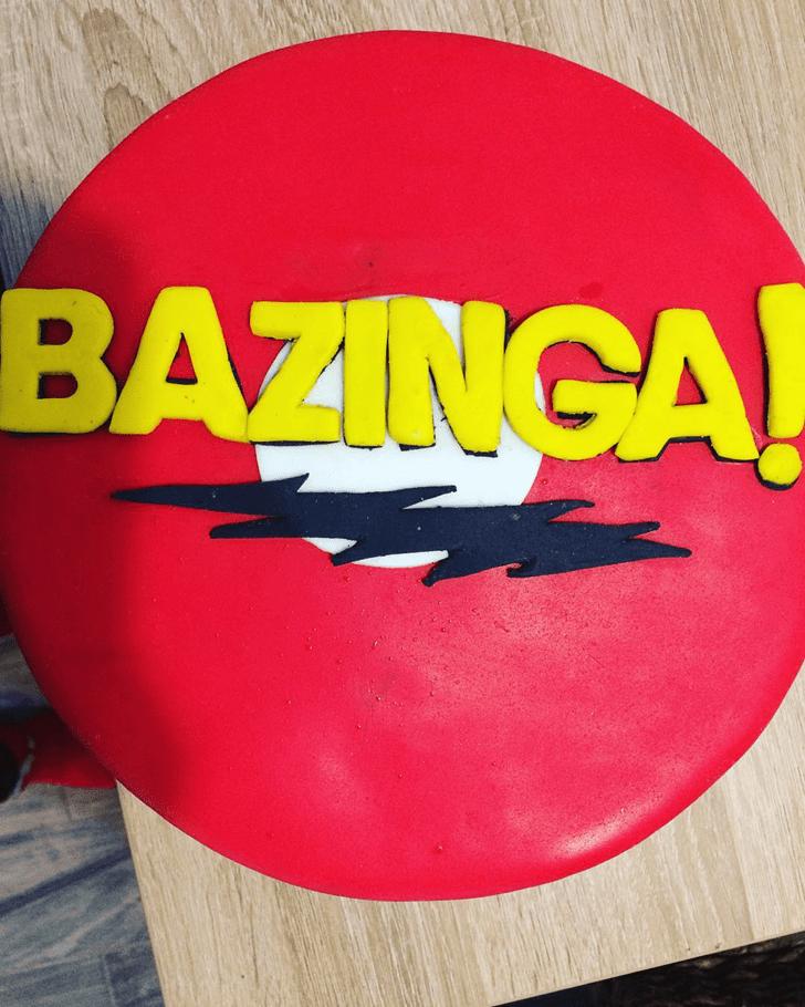 Ideal Big Bang Theory Cake
