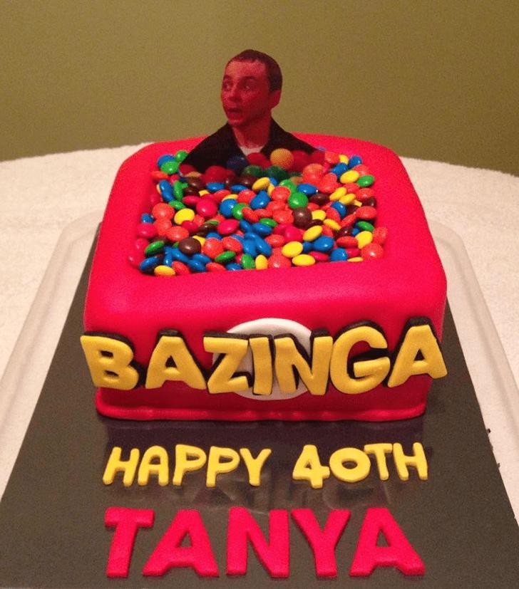 Magnificent Big Bang Theory Cake