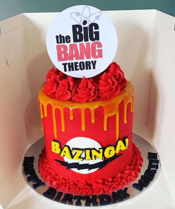 Marvelous Big Bang Theory Cake