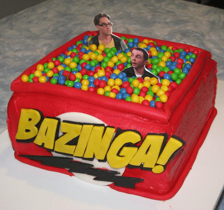 Mesmeric Big Bang Theory Cake