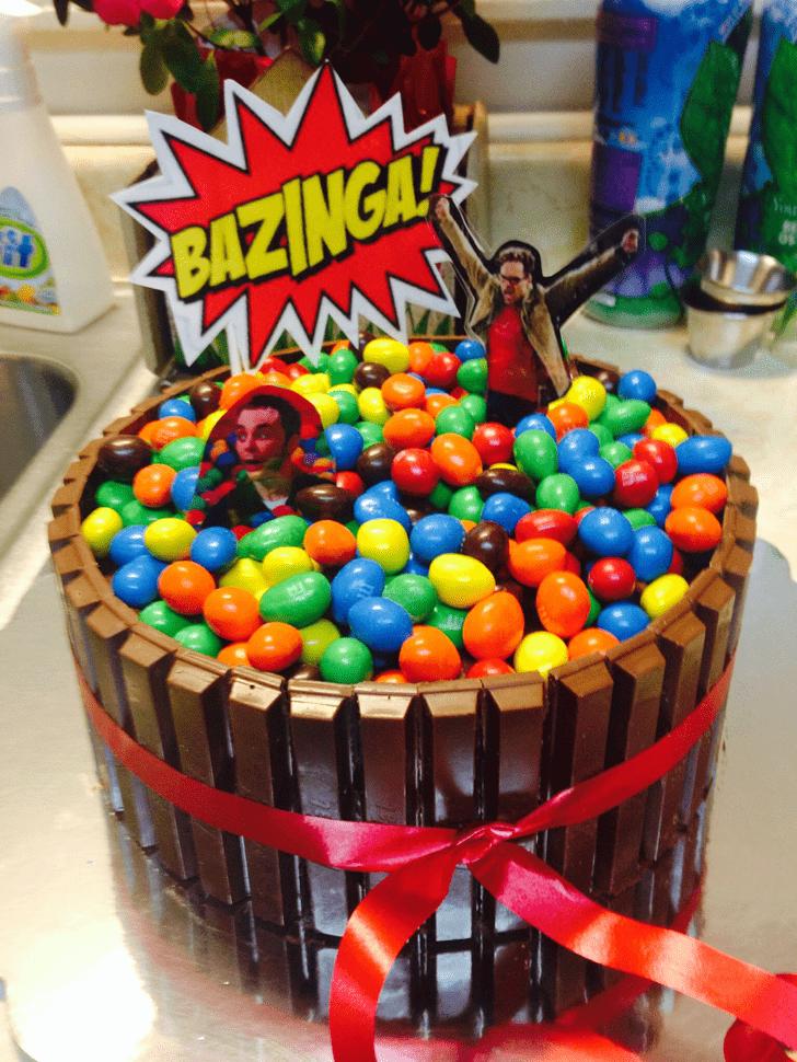 Nice Big Bang Theory Cake