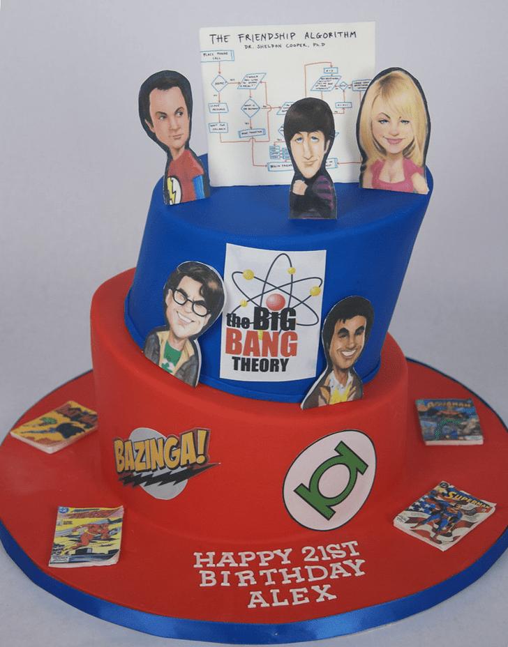 Pleasing Big Bang Theory Cake