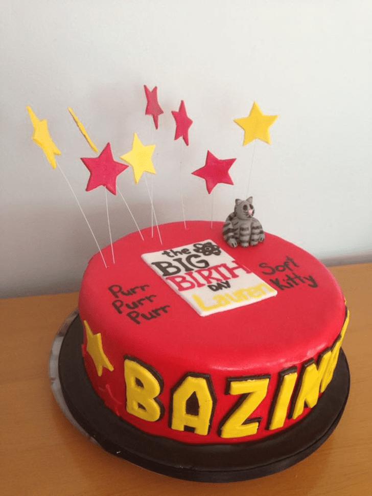 Shapely Big Bang Theory Cake