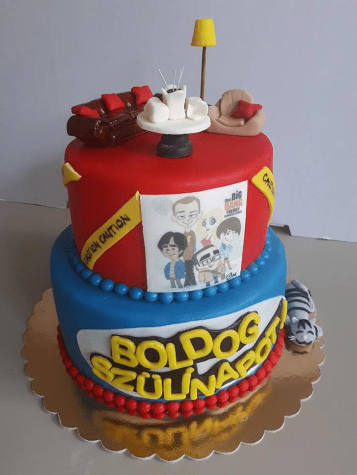 Slightly Big Bang Theory Cake
