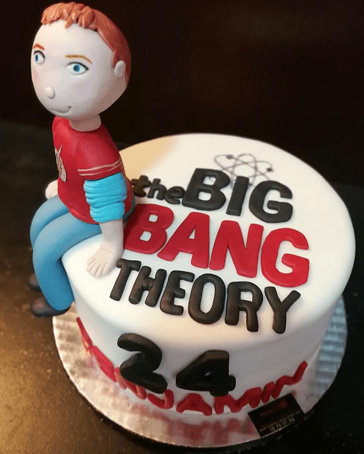 Splendid Big Bang Theory Cake