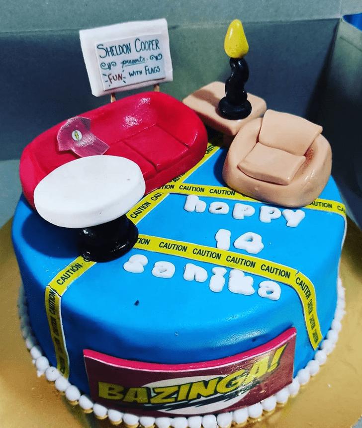 Stunning Big Bang Theory Cake