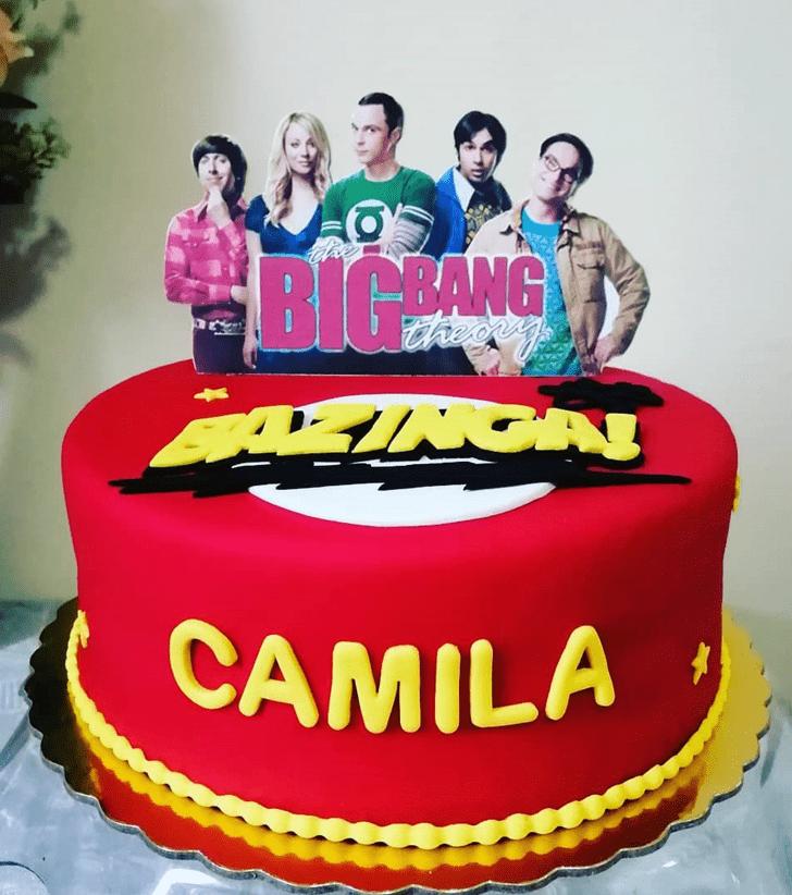 Superb Big Bang Theory Cake
