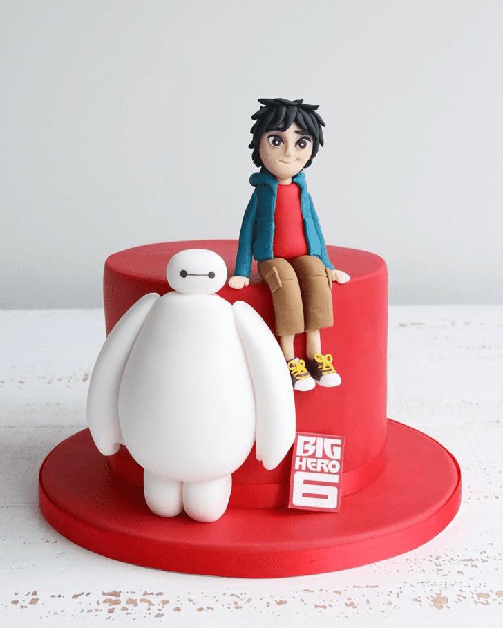 Adorable Big Hero 6 Cake