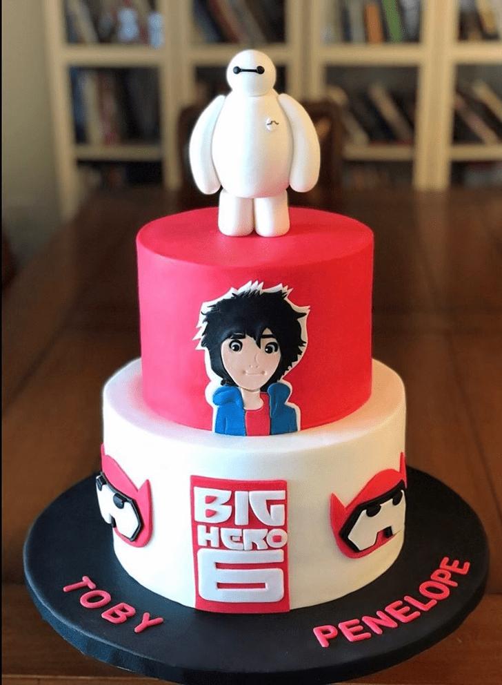 Bewitching Big Hero 6 Cake