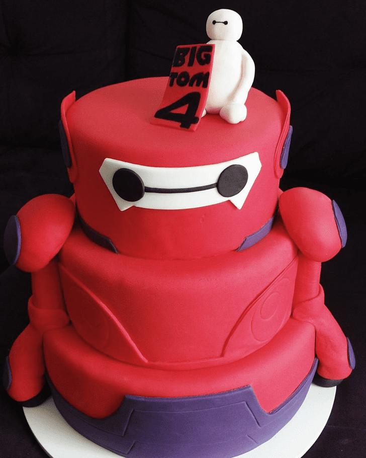 Captivating Big Hero 6 Cake