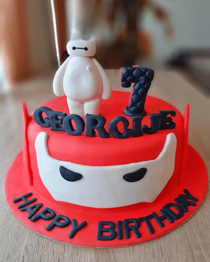 Charming Big Hero 6 Cake