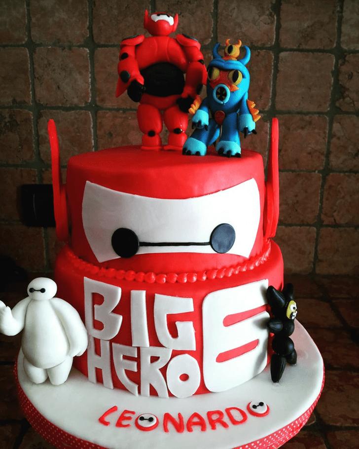 Classy Big Hero 6 Cake
