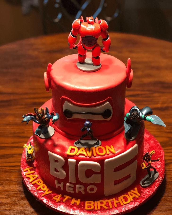 Enthralling Big Hero 6 Cake