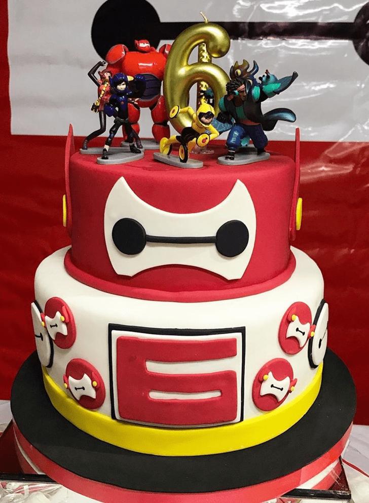 Fascinating Big Hero 6 Cake