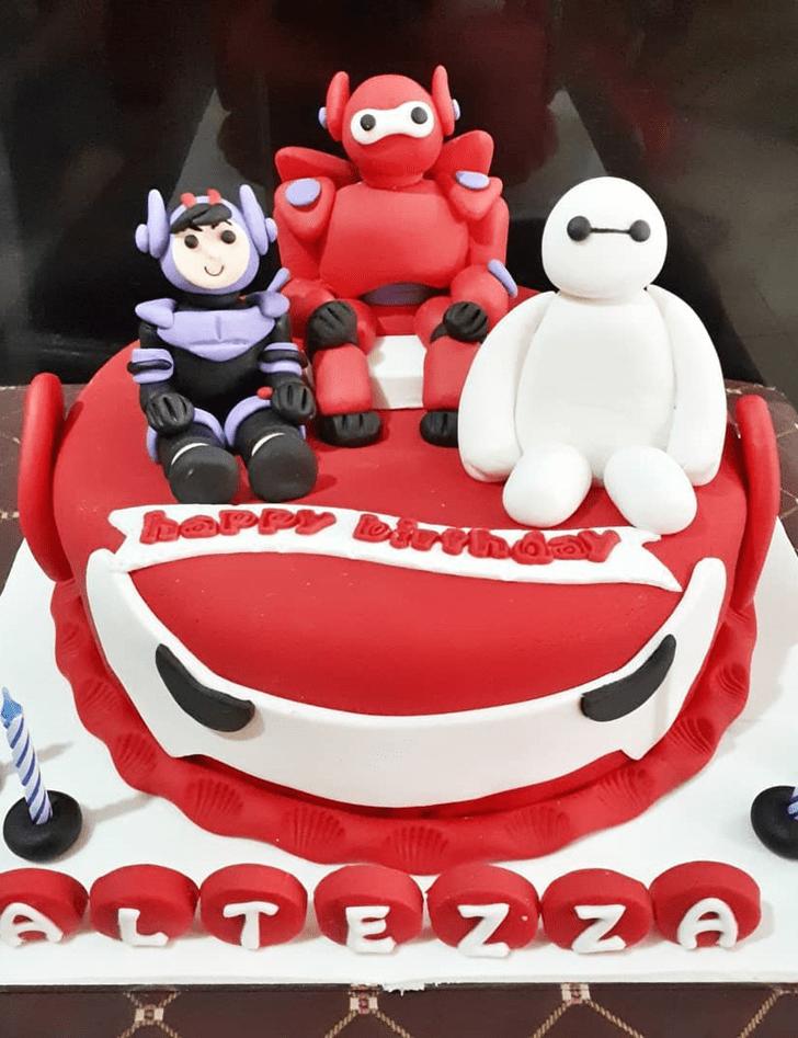 Good Looking Big Hero 6 Cake