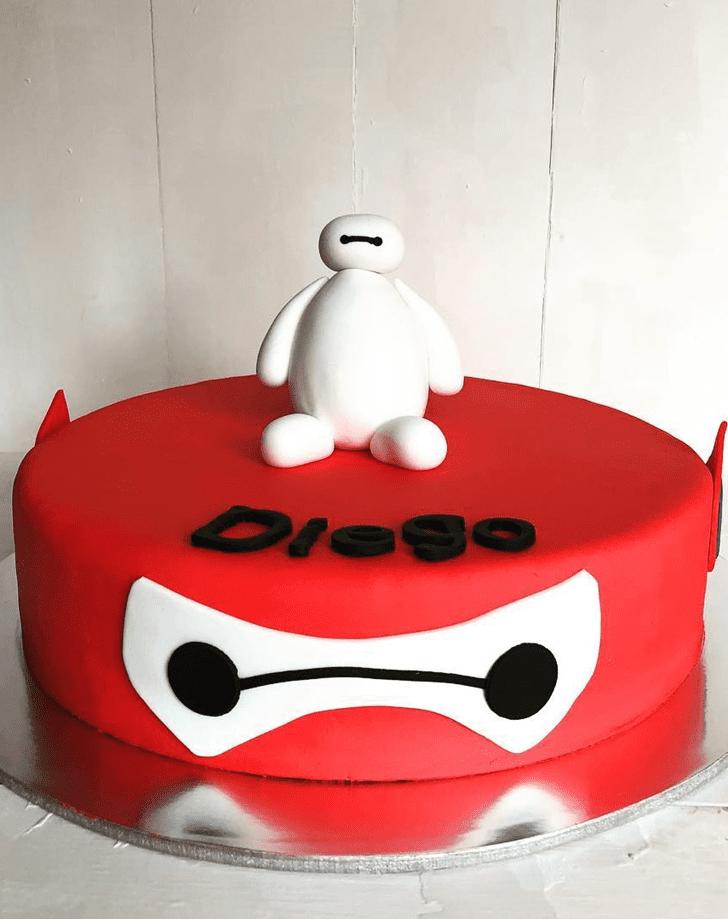 Gorgeous Big Hero 6 Cake