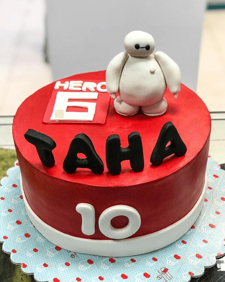 Grand Big Hero 6 Cake