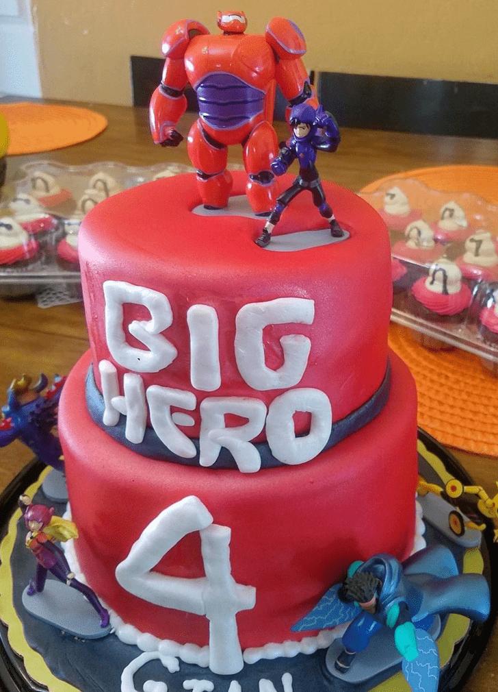 Inviting Big Hero 6 Cake