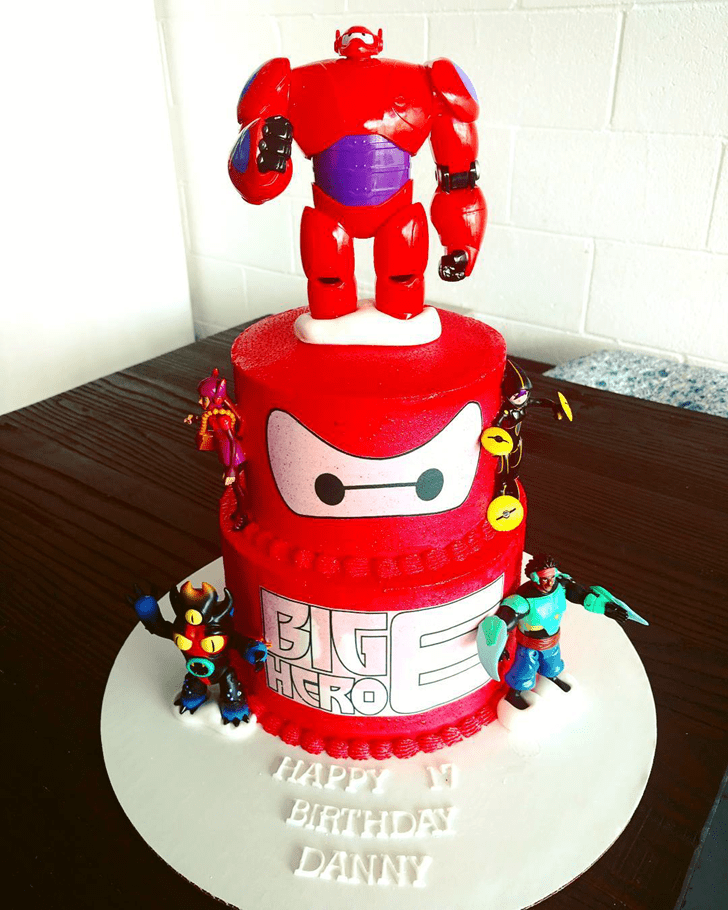 Marvelous Big Hero 6 Cake
