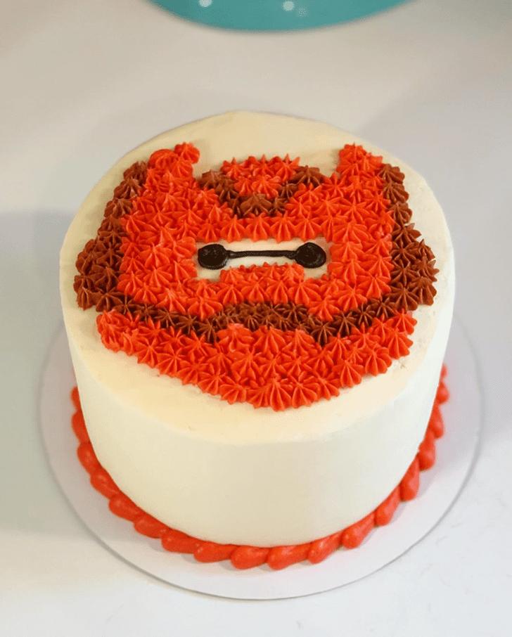 Mesmeric Big Hero 6 Cake