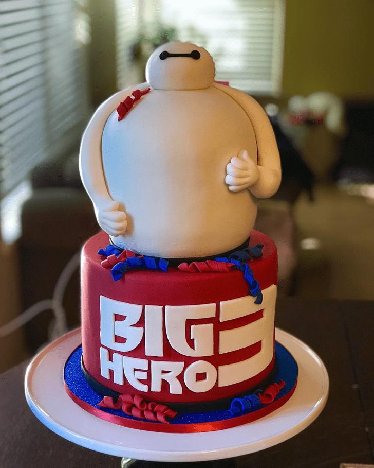 Radiant Big Hero 6 Cake