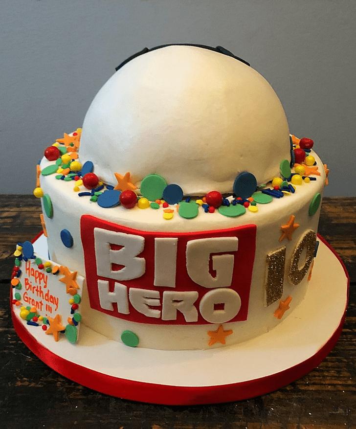 Ravishing Big Hero 6 Cake