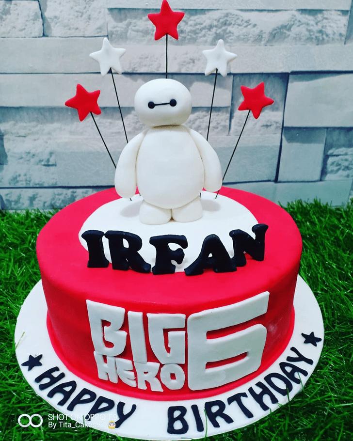 Resplendent Big Hero 6 Cake